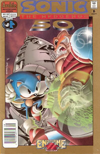 Sonic Issue 50 cover