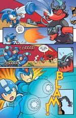 Zavok fights Sonic
