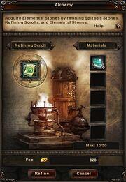 Alchemy-process