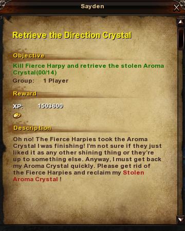 90 Retrieve the Direction Crystal