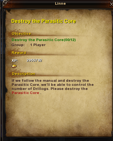 165 Destroy the Parasitic Core