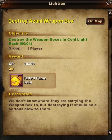 126 Destroy Azuni Weapon Box
