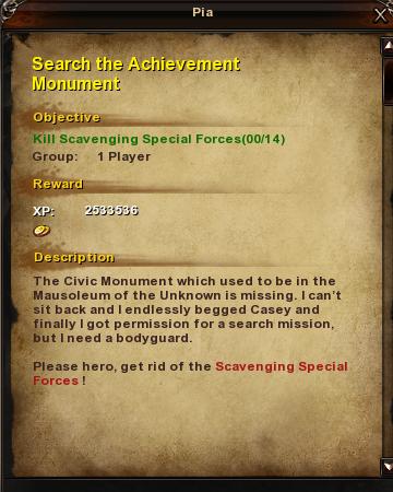 151 Search the Achievement Monument