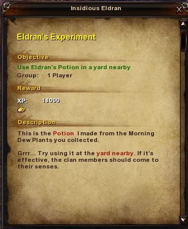 125 Eldran's Experiment