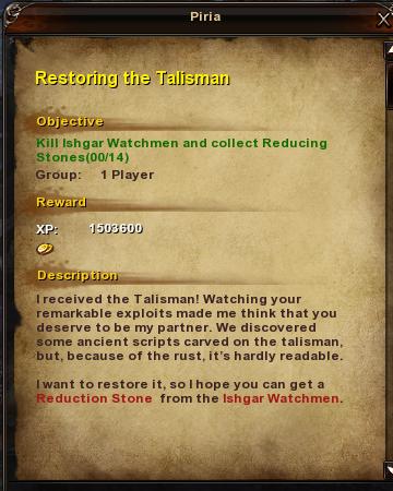 98 Restoring the Talisman