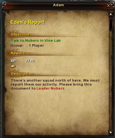 49 Eden's Report