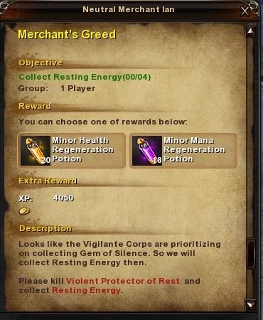 13 Merchant's Greed