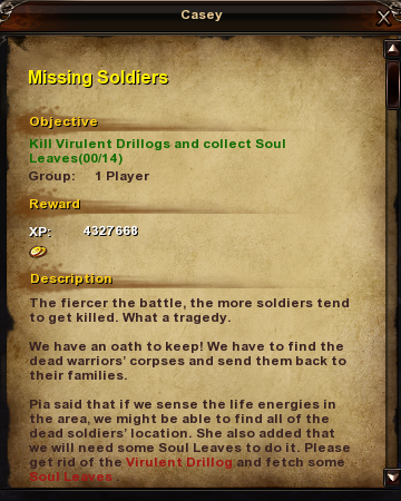 127 Missing Soldiers