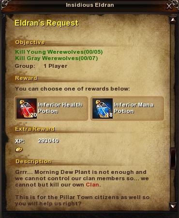 126 Eldran's Request