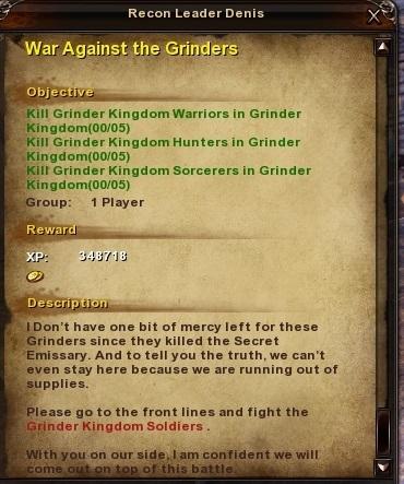 111 War Against the Grinders
