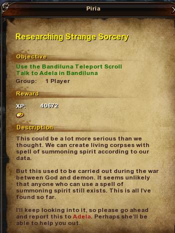 25 Researching Strange Sorcery