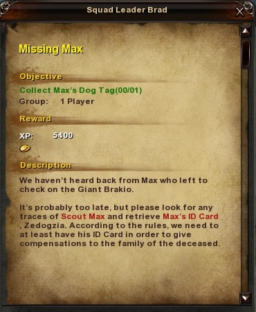 44 Missing Max
