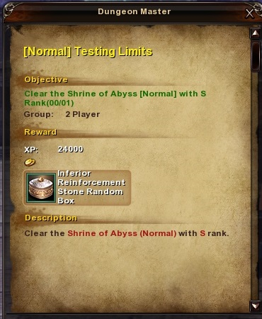 167 Normal Testing Limits