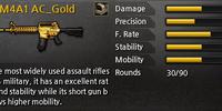 M4A1 AC Gold
