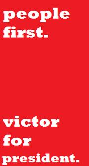 Victorpresidenposter