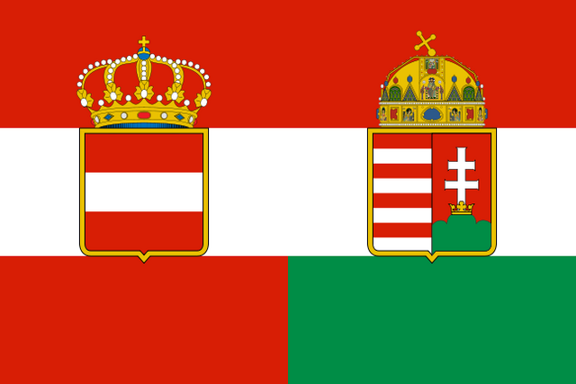 Archivo:Flag of Austria-Hungary.png