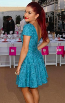 File:Ariana posing in a blue dress.jpg
