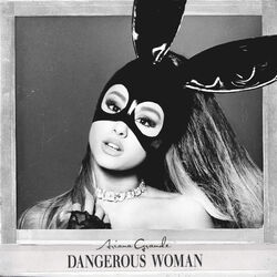 Ariana Grande - Dangerous Woman Official Standard Album Cover