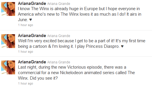 File:Ariana tweeting about the winx club.png