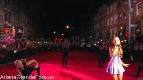 Ariana Grande - Baby I The Way Live Pre-Show MTV MUSIC AWARDS