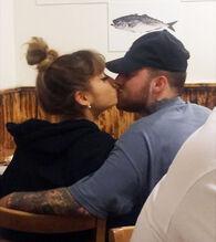 Mac and Ari's kiss