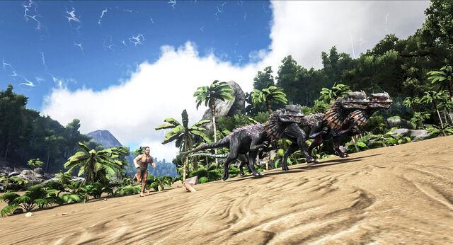 File:ARK-Dilophosaurus Screenshot 001.jpg