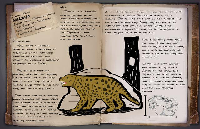 File:Fanmade Thylacoleo Dossier.jpg