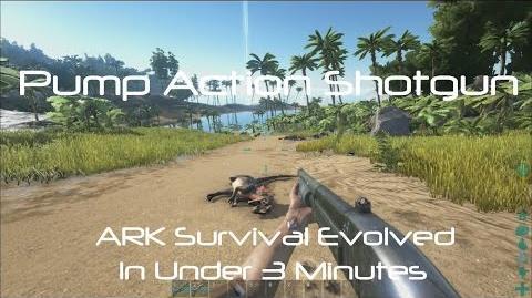Pump Action Shotgun (Machined) -ARK Survival Evolved-