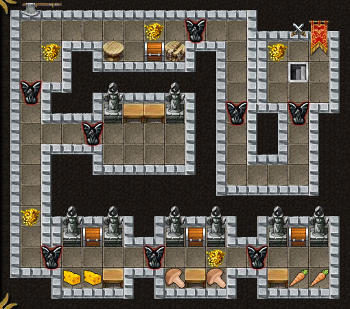 Dungeon Layout 9