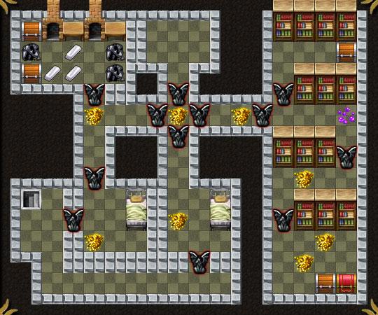 Dungeon Layout 13