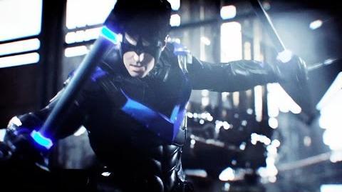 Batman Arkham Knight - Tumbler Batmobile Pack and GCPD Lockdown Mission DLC Trailer