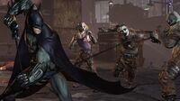 Batman Uses His Batclaw