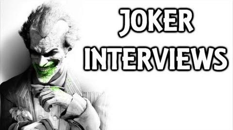 Batman Arkham City Joker Interview Tapes