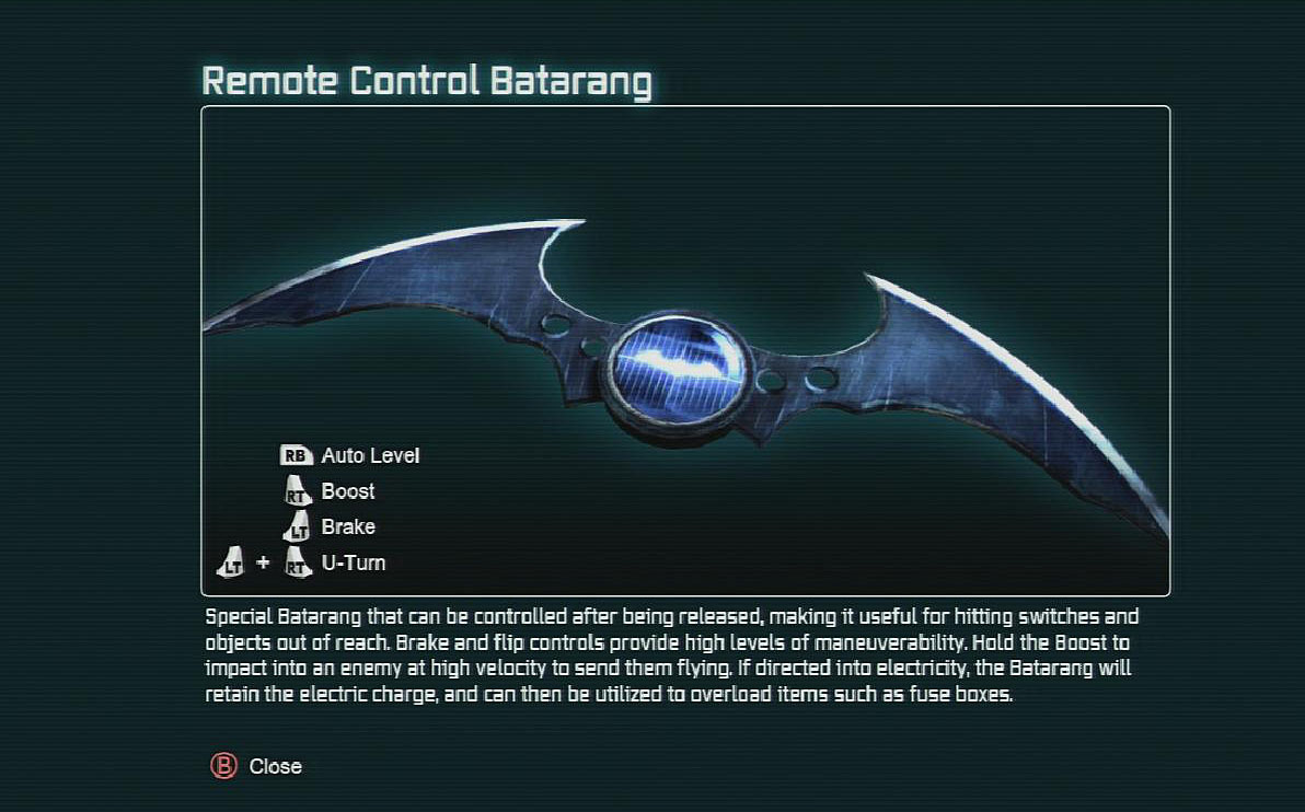 latest?cb=20130914215829 remote control batarang arkham wiki fandom powered by wikia batman arkham city fuse box overload at cos-gaming.co