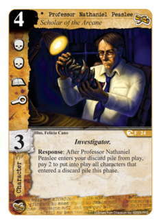 Professor Nathaniel Peaslee CS-24