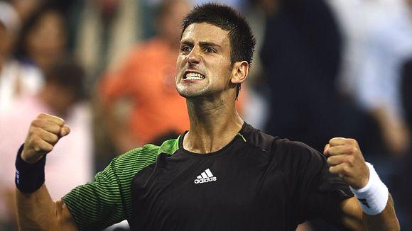 Djokovic fists