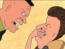 Butthead and buzzcut