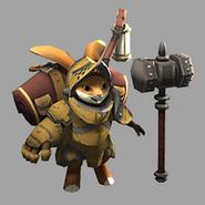 Rabbit Sapper Model