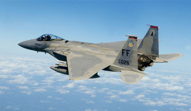 File:F-15, 71st Fighter Squadron, in flight.jpg