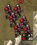 Crimson infantry