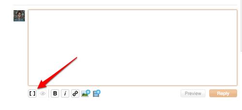 Forum source button