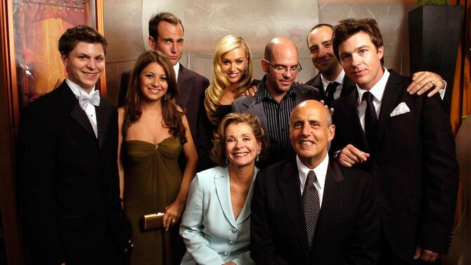 2004 Primetime Emmy Awards - Arrested Development Group 01