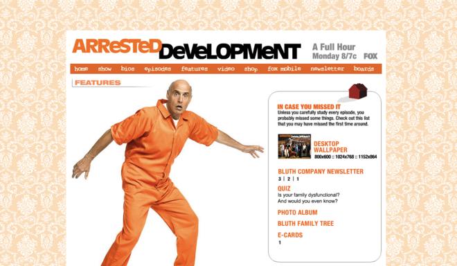 Official website 2004