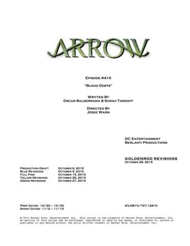 File:Arrow script title page - Blood Debts.png
