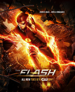 The Flash season 2 poster - Zoom is Back... With a Vengeance