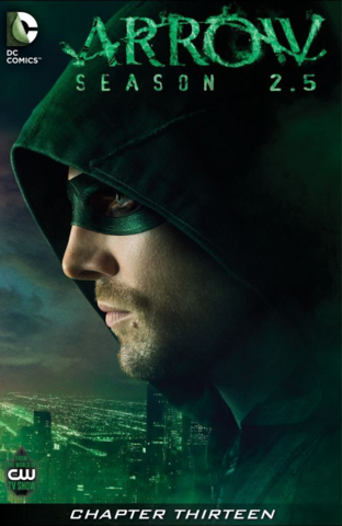 Archivo:Arrow Season 2.5 chapter 13 digital cover.png