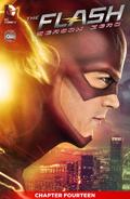 The Flash Season Zero chapter 14 digital cover