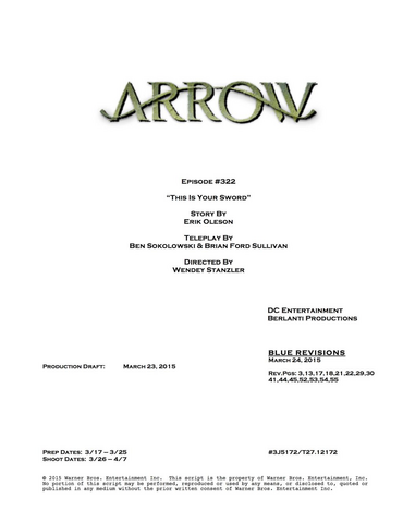 File:Arrow script title page - This Is Your Sword.png