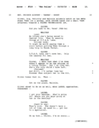 The Fallen script excerpt - page 13