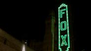 Fox Theatre sign